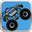 Police Monster Truck Icon Image