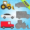 Vehicles Puzzles for Toddlers! Icon Image