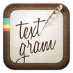 Textgram - write on photos Icon Image