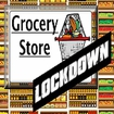 Grocery Store Lockdown Icon Image