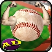 Homerun Baseball Icon Image
