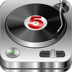 DJ Studio 5 - Free music mixer Icon Image