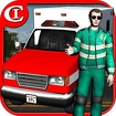 Crazy Ambulance King 3D Icon Image