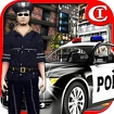 Crazy Police Parking 3D Icon Image