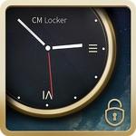 Luxury Clock CM Locker Theme APK