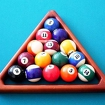 2 Player Billiard Icon Image
