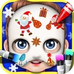 Baby Face Art Paint Icon Image