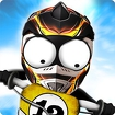 Stickman Downhill Motocross Icon Image