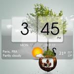 3D Flip Clock Theme Pack 02 APK