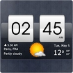 Sense Flip Clock & Weather Icon Image