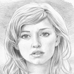 Pencil Sketch Icon Image