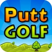 Putt Golf Icon Image