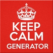 Keep Calm Generator icon