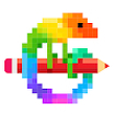 Pixel Art: Color by Number Game icon