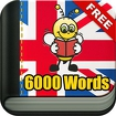 Learn English 6,000 Words Icon Image