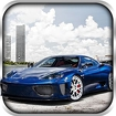 Fast City Car Racing 3D Icon Image