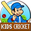 Kids Cricket Icon Image