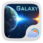 Galaxy Theme GO Weather EX APK