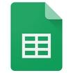 Google Sheets Icon Image
