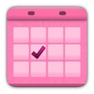 Menstrual Calendar Icon Image