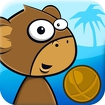 Monkey Kick Off -FREE fun game Icon Image