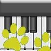 Animal Piano kids Icon Image
