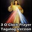 3 O'Clock Prayer Tagalog Ver Icon Image
