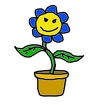 Flowers Dictionary Icon Image