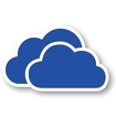 OneDrive – cloud storage icon