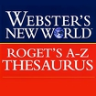 Webster's Thesaurus TR icon