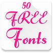 Fonts for FlipFont 50 #6 Icon Image