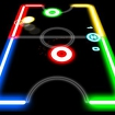 Glow Hockey Icon Image