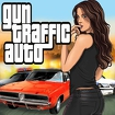 Gun Traffic Auto Icon Image