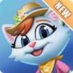 Kitty City: Help Cute Cats Build & Harvest Crops 10.002 Icon Image