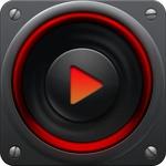 PlayerPro Red Fusion Skin APK