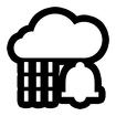 Rain Alarm Icon Image