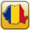 Map of Romania Icon Image