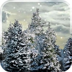 Snowfall Free Live Wallpaper Icon Image