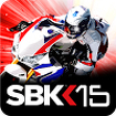 SBK15 Official Mobile Game Icon Image