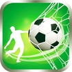 Football Flick Goal Icon Image