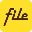 File Expert with Clouds Icon Image