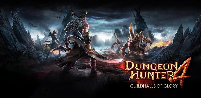 Dungeon Hunter 4 1.9.1d,2.0.0f APK + OBB Data offline