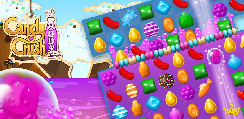 Candy Crush Soda Saga 1.55.15,1.56.13,1.57.7,1.58.4,1.59.2,1.60.4,1.61.5,1.62.10,1.63.1,1.64.6,1.65.8,1.66.2,1.67.6,1.67.7,1.68.4,1.69.10,1.71.3,1.72.5,1.72.6,1.73.9,1.73.10,1.74.3,1.75.5,1.76.13 APK