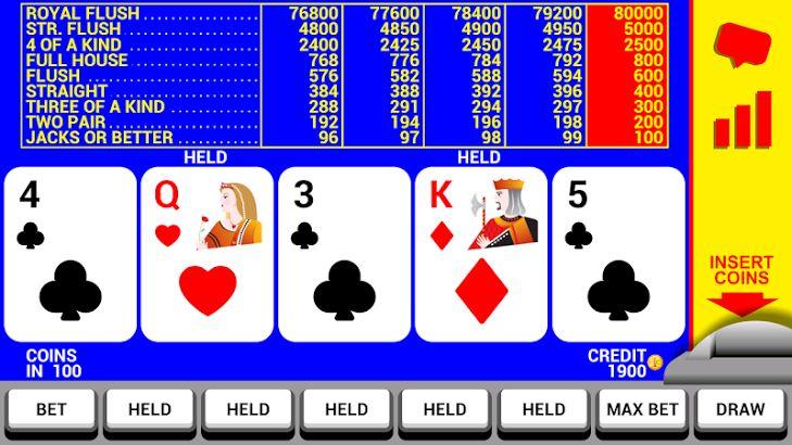 double up poker machine